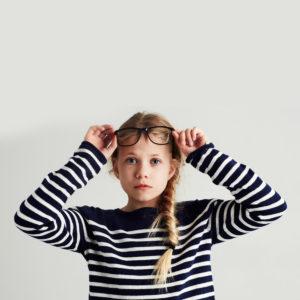 Girl Stripe Sweater